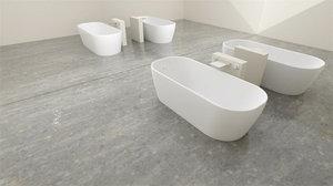 3D model bathroom blender