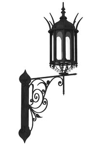 ornate sconce model