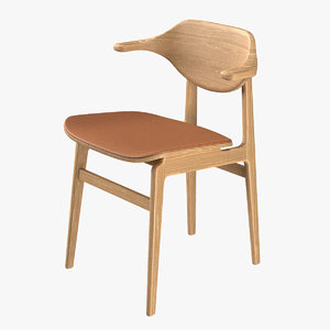 chair norr11 buffalo 3D model
