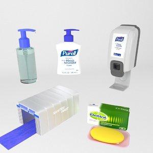 sanitizer purell 3D