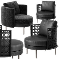 Torii armchairs by Minotti