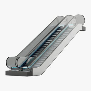 3D escalator architecture