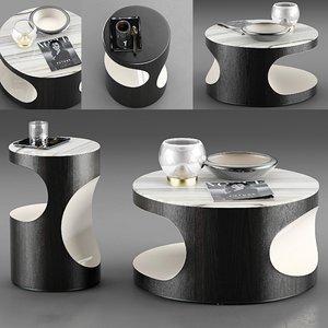 3D minotti boden coffee table model