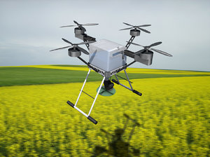 3D drone agricultural