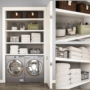 laundry 3D model