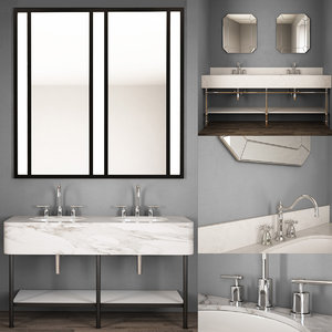 3D sink furniture washbasin