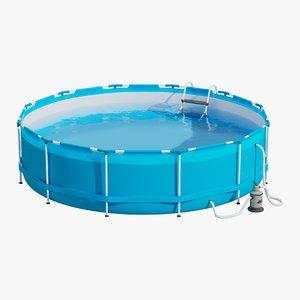 3D garden pool