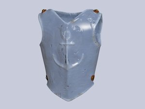 metall cuirass 3D