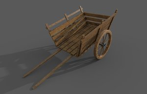 3D model vintage carriage