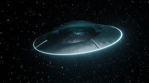 ufo space 3D