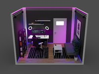 Gaming Room Setup