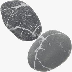pebbles sea 3D