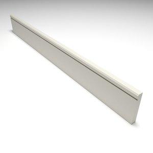 3D skirting board