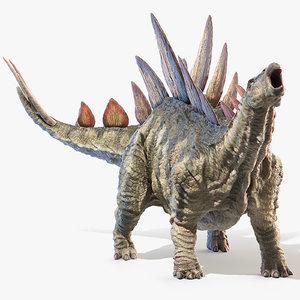 3D stegosaurus stegos model