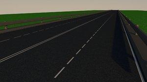 3D highway street freeway