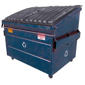 3D pbr dumpster