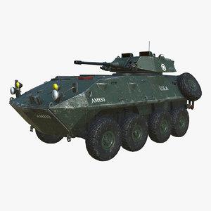 3D model lav light armored vehicle