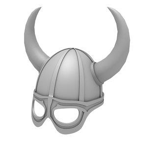 3D horns helmet
