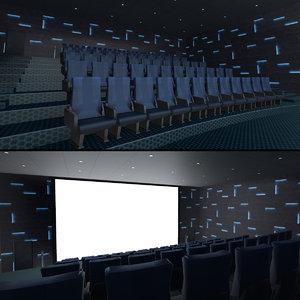 modern hall 02 3D