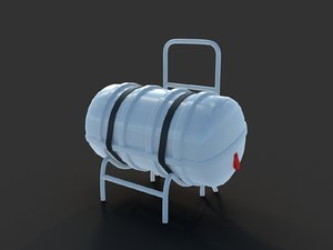 3D ship rescue capsule