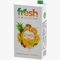 Juice Box 3D Model
