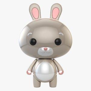 rabbit toy model