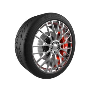 car wheel tire r888 3D