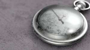 british wwii stopwatch 3D model