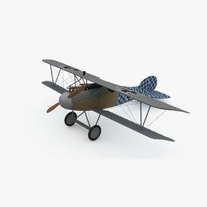 3D albatros d va model