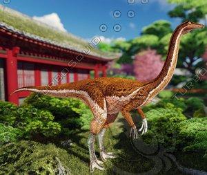modeled animations 3D model