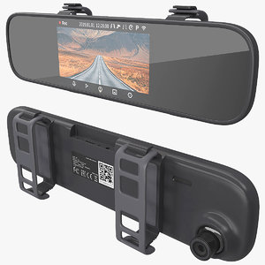 3D rearview mirror smart dash