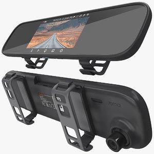 3D rearview mirror xiaomi 70mai model