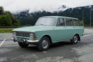 3D azlk moskvitch-427 1972 model