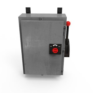 electrical panel 3D