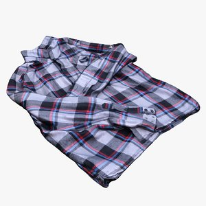 flanell shirt 3D model