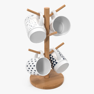 kitchen mug tree stand model