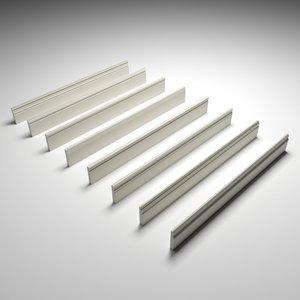 skirting boards 3D model