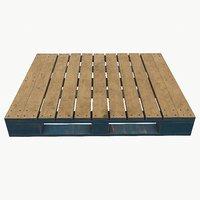 Pbr Wooden Pallet v3