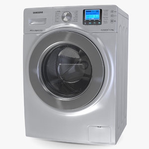 ecobubble washing machine samsung 3D model