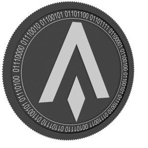 3D bavala black coin