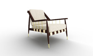 3D edmond sponce lounger furniture