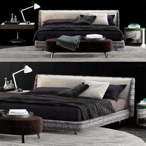 minotti spencer bed model