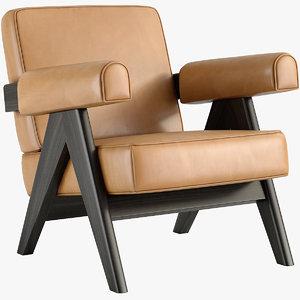 capitol complex armchair 3D model
