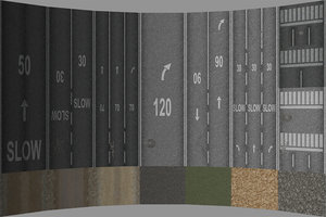 road terrain texture pack