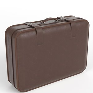 3d suitcase rendered scenes model
