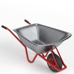 3D wheelbarrow 2