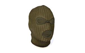 3D ski face mask terrorist