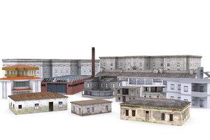 pro building 3d model
