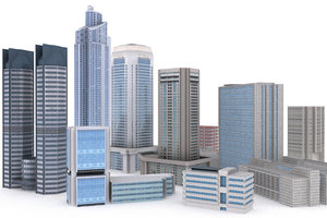 3d pro building model