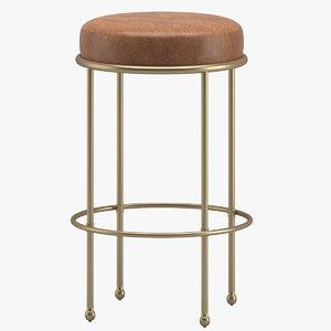 bar stool 07 3D
